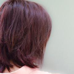 デート ピンク ガーリー ベリーピンク ヘアスタイルや髪型の写真・画像