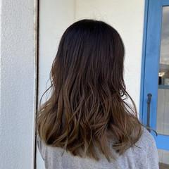 うる艶カラー 大人かわいい 愛され 艶髪 ヘアスタイルや髪型の写真・画像