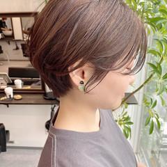 オフィス ショートヘア ショート ショートボブ ヘアスタイルや髪型の写真・画像