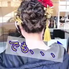 エレガント ヘアセット動画 成人式ヘア 川越 ヘアスタイルや髪型の写真・画像