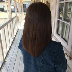 髪質改善 ロングヘア トリートメント ナチュラル ヘアスタイルや髪型の写真・画像
