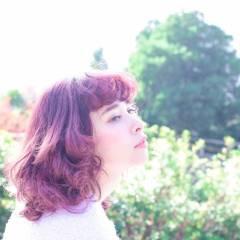 ミディアム モード モテ髪 ガーリー ヘアスタイルや髪型の写真・画像