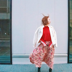 韓国風ヘアー ハイトーンカラー ハイトーン ミニボブ ヘアスタイルや髪型の写真・画像