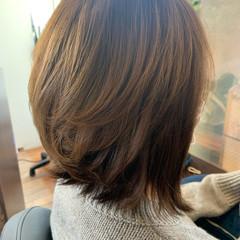ショートボブ エクステ ナチュラル ミディアム ヘアスタイルや髪型の写真・画像