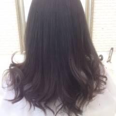ゆるふわ 外国人風 ロング アッシュベージュ ヘアスタイルや髪型の写真・画像