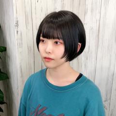 イメチェン ショートヘア ミニボブ トレンド ヘアスタイルや髪型の写真・画像