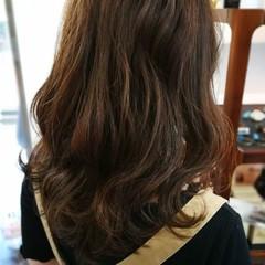 デート ミディアム ナチュラル スモーキーカラー ヘアスタイルや髪型の写真・画像