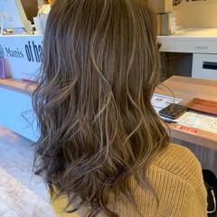 ハイライト ロング ナチュラル N.オイル ヘアスタイルや髪型の写真・画像