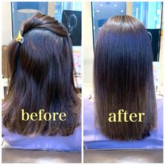 髪質改善カラー 髪質改善トリートメント 髪質改善 ロング ヘアスタイルや髪型の写真・画像
