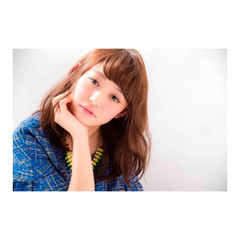 ミディアム 黒髪 パーマ デジタルパーマ ヘアスタイルや髪型の写真・画像