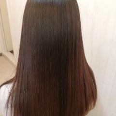 ロング ストレート 大人ロング 髪質改善 ヘアスタイルや髪型の写真・画像