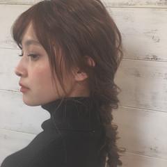 外国人風 ロング ゆるふわ アッシュ ヘアスタイルや髪型の写真・画像