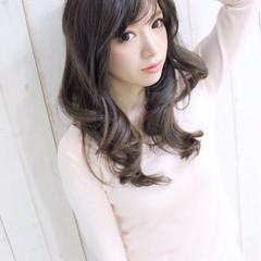 モテ髪 春 ロング 夏 ヘアスタイルや髪型の写真・画像