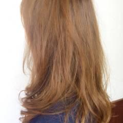 ハイライト ローライト セミロング コンサバ ヘアスタイルや髪型の写真・画像