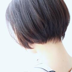 ショート ナチュラル OL オフィス ヘアスタイルや髪型の写真・画像