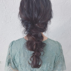 ナチュラル 成人式 結婚式 デート ヘアスタイルや髪型の写真・画像