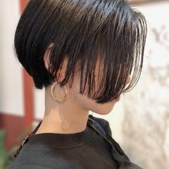 大人可愛い ショートヘア ショート モード ヘアスタイルや髪型の写真・画像