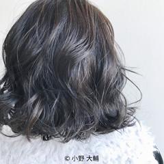 ボブ グレージュ 外国人風カラー ハイライト ヘアスタイルや髪型の写真・画像