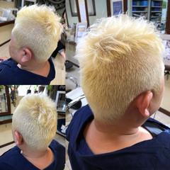 ボーイッシュ ストリート メンズ 刈り上げ ヘアスタイルや髪型の写真・画像