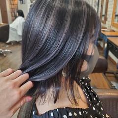 コントラストハイライト ナチュラルグラデーション フェミニン グラデーションカラー ヘアスタイルや髪型の写真・画像