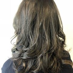 ヘアアレンジ ロング イルミナカラー 外国人風カラー ヘアスタイルや髪型の写真・画像
