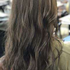 秋冬スタイル ハイライト アッシュグレージュ ヘアアレンジ ヘアスタイルや髪型の写真・画像