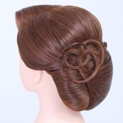 ミディアム 和装 成人式 ヘアアレンジ ヘアスタイルや髪型の写真・画像