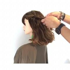 デート エレガント 夏 色気 ヘアスタイルや髪型の写真・画像