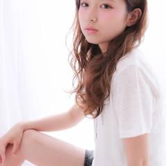 モテ髪 夏 ロング パーマ ヘアスタイルや髪型の写真・画像