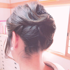 ボブ 結婚式 エレガント 和装ヘア ヘアスタイルや髪型の写真・画像