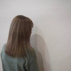 ミルクティーベージュ ブラウン ブラウンベージュ ミルクティーブラウン ヘアスタイルや髪型の写真・画像