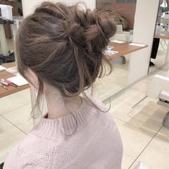 ショート ゆるふわ 大人女子 簡単ヘアアレンジ ヘアスタイルや髪型の写真・画像