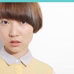 モード スモーキーカラー 3Dカラー ショート ヘアスタイルや髪型の写真・画像