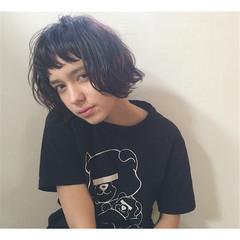 外国人風 アッシュ 前髪あり ストリート ヘアスタイルや髪型の写真・画像