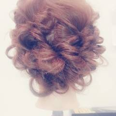 モテ髪 ヘアアレンジ 愛され フェミニン ヘアスタイルや髪型の写真・画像