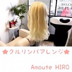 ナチュラル ヘアアレンジ セミロング 簡単 ヘアスタイルや髪型の写真・画像
