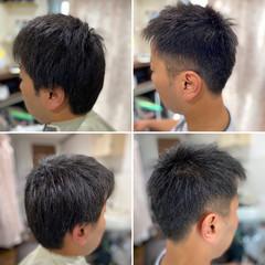 メンズショート メンズカット フェードカット ショートボブ ヘアスタイルや髪型の写真・画像