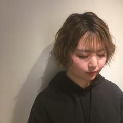 外国人風パーマ 外国人風カラー ハイトーン 外国人風 ヘアスタイルや髪型の写真・画像