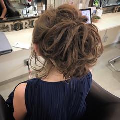 エレガント セミロング 夏 大人かわいい ヘアスタイルや髪型の写真・画像