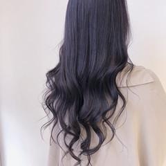 ラベンダー ラベンダーピンク ブルーラベンダー エレガント ヘアスタイルや髪型の写真・画像