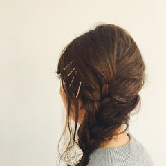 夏 ミディアム 大人かわいい 涼しげ ヘアスタイルや髪型の写真・画像