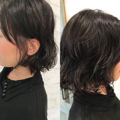 パーマ ナチュラル ゆるふわ 透明感 ヘアスタイルや髪型の写真・画像