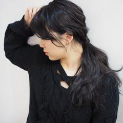 簡単 ふわふわ ゆるふわ ロング ヘアスタイルや髪型の写真・画像
