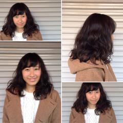 ゆるふわ パーマ ふわふわ かわいい ヘアスタイルや髪型の写真・画像