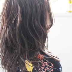 外国人風 ロング ナチュラル 大人かわいい ヘアスタイルや髪型の写真・画像