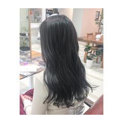 アッシュグレー グレージュ 外国人風 グレー ヘアスタイルや髪型の写真・画像
