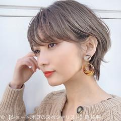 ショートヘア ウルフカット インナーカラー ナチュラル ヘアスタイルや髪型の写真・画像