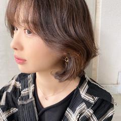ボブ ナチュラル オルチャン 韓国ヘア ヘアスタイルや髪型の写真・画像