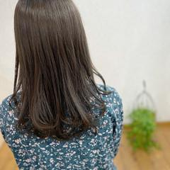 アディクシーカラー ナチュラル アッシュグレージュ 髪質改善カラー ヘアスタイルや髪型の写真・画像