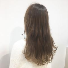 上品 ハイライト ミルクティーベージュ エレガント ヘアスタイルや髪型の写真・画像